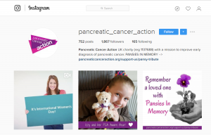 Pancreatic Cancer Action Instagram