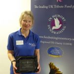 Tess Moore, MND Association with her 2017 MuchLoved Partner Award