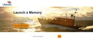 RNLI Launch a Memory