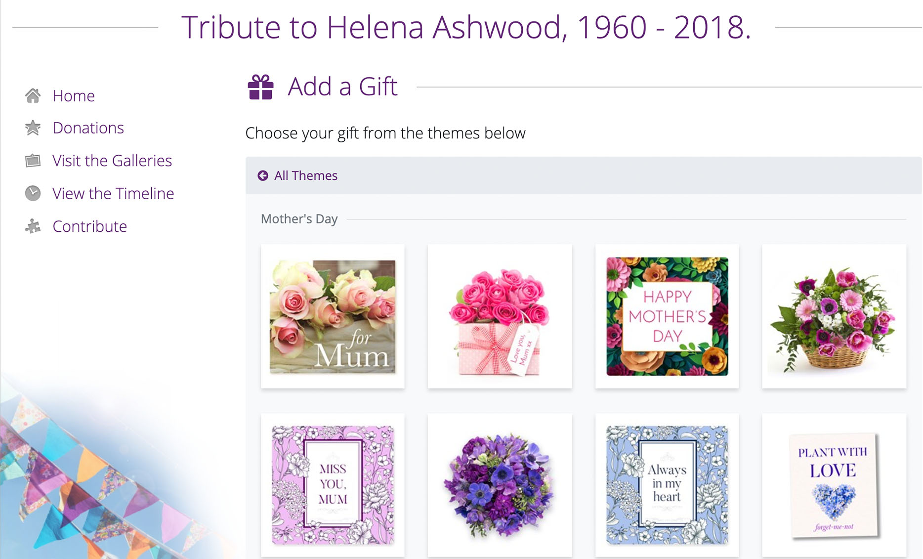 Mother's Day Virtual gifts 1